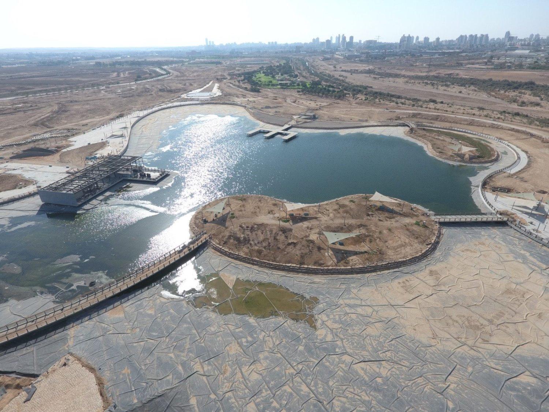 בקרוב: פארק האגם. צילום: החברה הכלכלית לפיתוח באר שבע